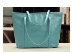 Harga Quincylabel Croco Tote Bag Blue Yang Murah Dan Bagus