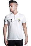 Jual Quincylabel Euro 2016 Germany Muller Polo Shirt White Murah