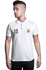 Top 10 Quincylabel Euro 2016 Germany Muller Polo Shirt White Online