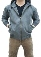 Jual Quincylabel Jacket Abu Abu Tua Import