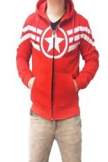 Toko Quincylabel Jacket Capt America Ii Merah Online Indonesia