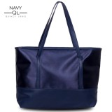 Spesifikasi Quincylabel Jill Tote Bag Navy Quincylabel