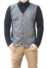 Cara Beli Quincylabel Juno Terry Shirt Grey