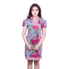 Review Quincylabel Kartini Batik Dress Ungu Quincylabel Di Dki Jakarta