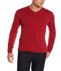 Review Quincylabel Long Slevee V Neck Red Di Indonesia
