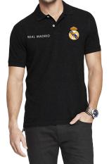 QuincyLabel Polo Soccer Shirt El Real real madrid-Black