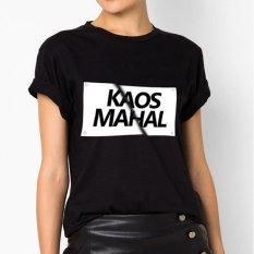Spesifikasi Quincylabel Print T Shirt Kaos Mahal A 123 Black Merk Quincylabel