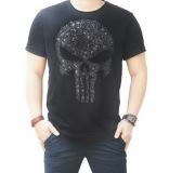 Review Quincylabel Punisher Ta T Shirt Hitam Terbaru