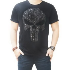 Quincylabel Punisher Ta T Shirt Hitam Murah