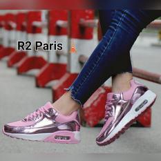 Jual R2 Paris Sepatu Kets Metalic Persello Pink Jawa Barat