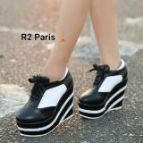 Ulasan Lengkap Tentang R2 Paris Sepatu Wedges Boots Ivana Hitam