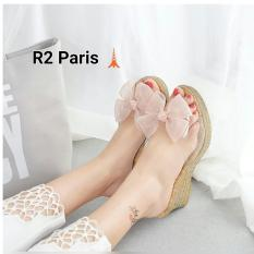 R2 Paris Wedges Sandal Camia - Pink