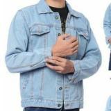 Miliki Segera R2G Store Jaket Pria Jeans Denim Premium Jacket Men S Biru