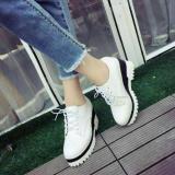Jual R9 Sepatu Wanita Boot Dmr Putih Azkashoes