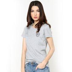 Toko Ra Jeans Ladies Small Logo Tee Grey Dekat Sini