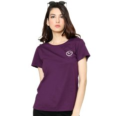 Jual Ra Jeans Ladies Small Logo Tee Purple Murah