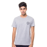 Beli Ra Jeans Small Logo Tee Grey Murah Indonesia