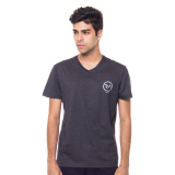 Situs Review Ra Jeans Small Logo Tee Grey V Neck