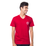 Review Toko Ra Jeans Small Logo Tee Red V Neck Online