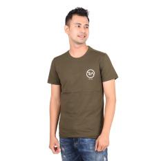 Review Ra Jeans Small Logo Tee Round Mlt Po2 011G Hijau Terbaru