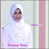 Harga Rabbani Great Innova Putih Jilbab Serut Kerudung Sekolah Paling Murah