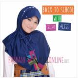 Harga Rabbani Kerudung Great Altis Jilbab Sekolah Biru Dongker Branded