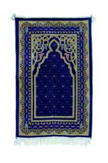 Rabena Lurex Sajadah asli Turki Biru