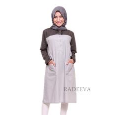 Cuci Gudang Radeeva Shafa Top Grey
