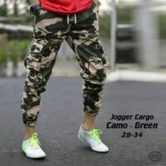 Beli Radi Shop Celana Joger Kargo Army Hijau Joger Pants Army Cargo Green