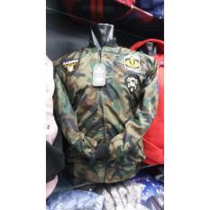 RADI SHOP  jaket Bomber loreng ARMY