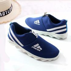 Rafishashoes Sepatu Fashion Po Blue Promo Beli 1 Gratis 1