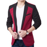 Harga Rahma Fashion Blazer Pria Casual Premium Maroon New