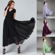Rainbow Site New Popular V-neck Sleeveless Long Dress Long Evening Dress Women's Bohemian Maxi