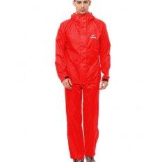 Beli Raincoat Jas Hujan Cozmeed Non Lining R1429 Merah Terbaru