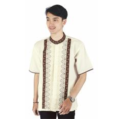 Raindoz Baju Koko /Pakaian Muslim Pria RYRx007 Metagofie Cream