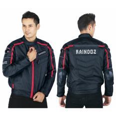 Toko Raindoz Jaket Rider Pria Ralx017 Piskines Black Termurah Jawa Barat