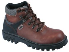 Jual Cepat Raindoz Men Boots Safety Kulit Sol Karet Rli 012 Cokelat