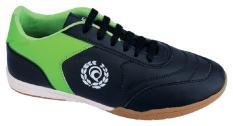 Raindoz RUN 006 sepatu sport/futsal pria - bahan sintetis - karet - sporty dan keren (Black)