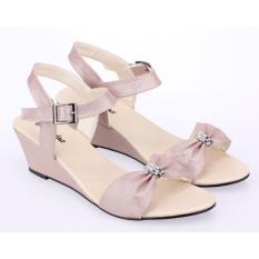 Jual Raindoz Sandal Sepatu Wedges Fashion Wanita Best Seller Rsp289 Pink Di Bawah Harga