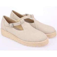 Iklan Raindoz Sepatu Flat Shoes Boat Synth Best Seller Wanita Rdo160 Cream