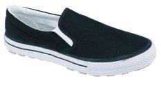 Harga Raindoz Sepatu Formal Pria Kanvas Sol Karet Rja 096 Hitam Baru