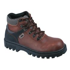 Raindoz Sepatu Safety Pria/Sepatu Boot Pria Raindoz RLI 012 COKLAT