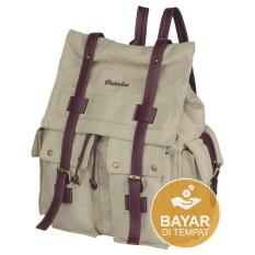 Promo Raindoz Tas Backpack Wanita Best Seller Rrh 017 Cream Di Jawa Barat