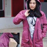 Raja Clothing Jaket Parka Wanita Akrilik Merah Muda Di Jawa Barat