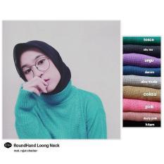 Rajut Roundhand TT Baju Panjang Muslim Hijab Moderen Pakaian Trand Baru 2018