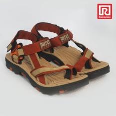 Spesifikasi Ramayana Diesel House Sandal Outdoor Pria Polos Webbing Eva Merah Bata Diesel House 07971186 Diesel House