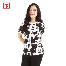 Beli Ramayana Disney X Ramayana Kaos T Shirt Disney Full Printed Mickey Close Up Pattern Putih Murah Di Jawa Barat