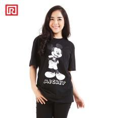 Beli Ramayana Disney X Ramayana Kaos T Shirt Disney Printed Classic Mickey Hitam Nyicil