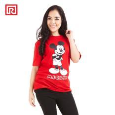Toko Ramayana Disney X Ramayana Kaos T Shirt Disney Printed Classic Mickey Merah Lengkap