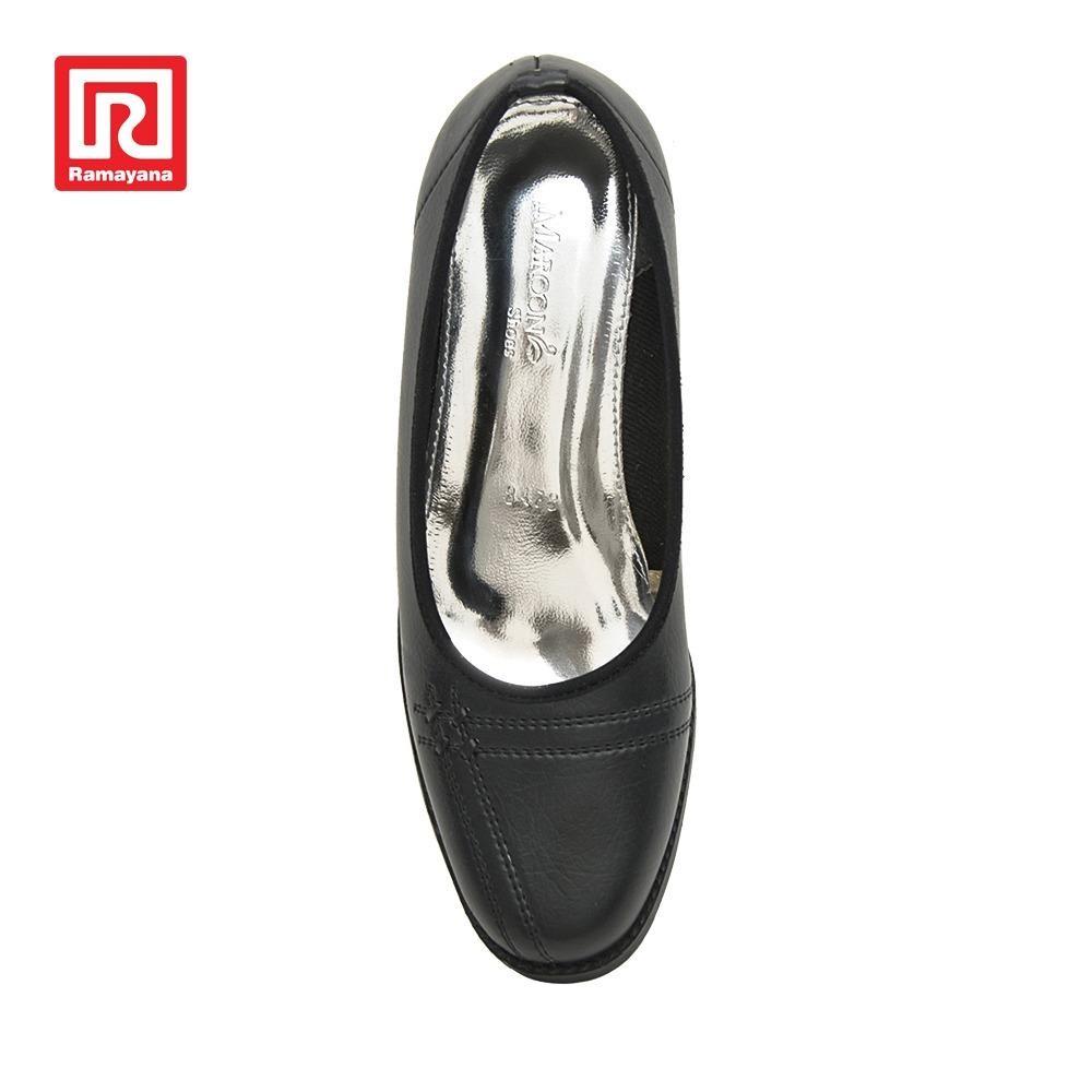 Ramayana - Imaroon - Sepatu Kerja Formal Wanita Pantofel Heels Hitam –  Imaroon (07984763) acc58248af